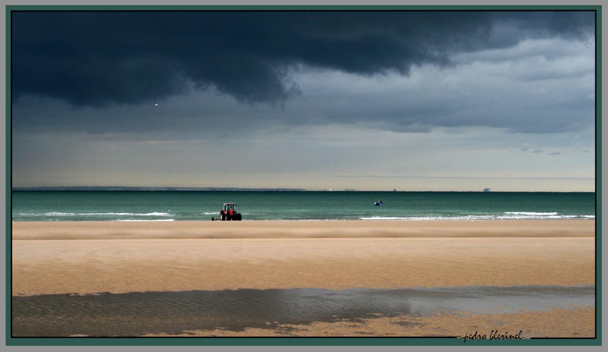 MER DU NORD : ciel d'orage (15/01/17)