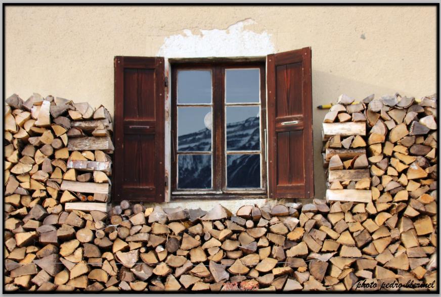 CHARTREUSE : fenêtre et bois (30/01/17)