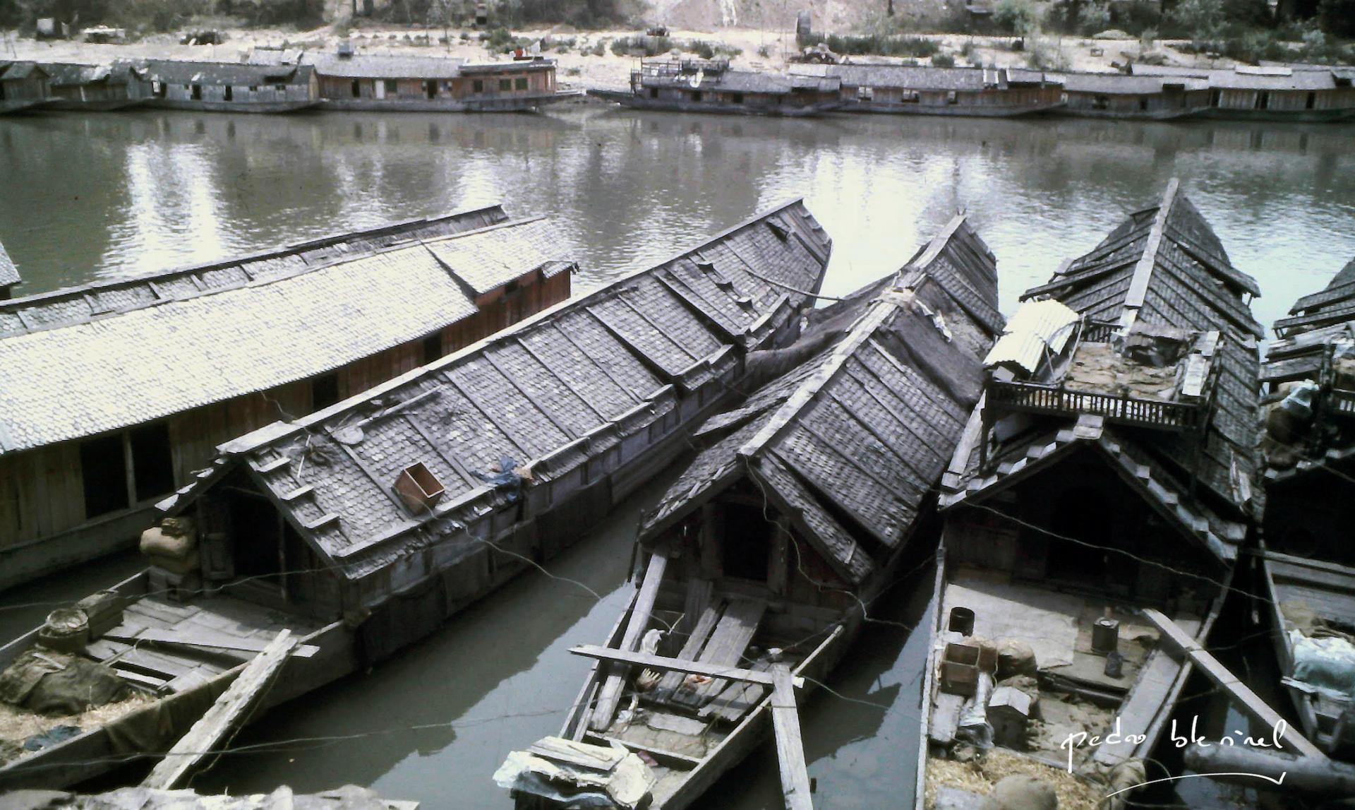 house boat du pauvre