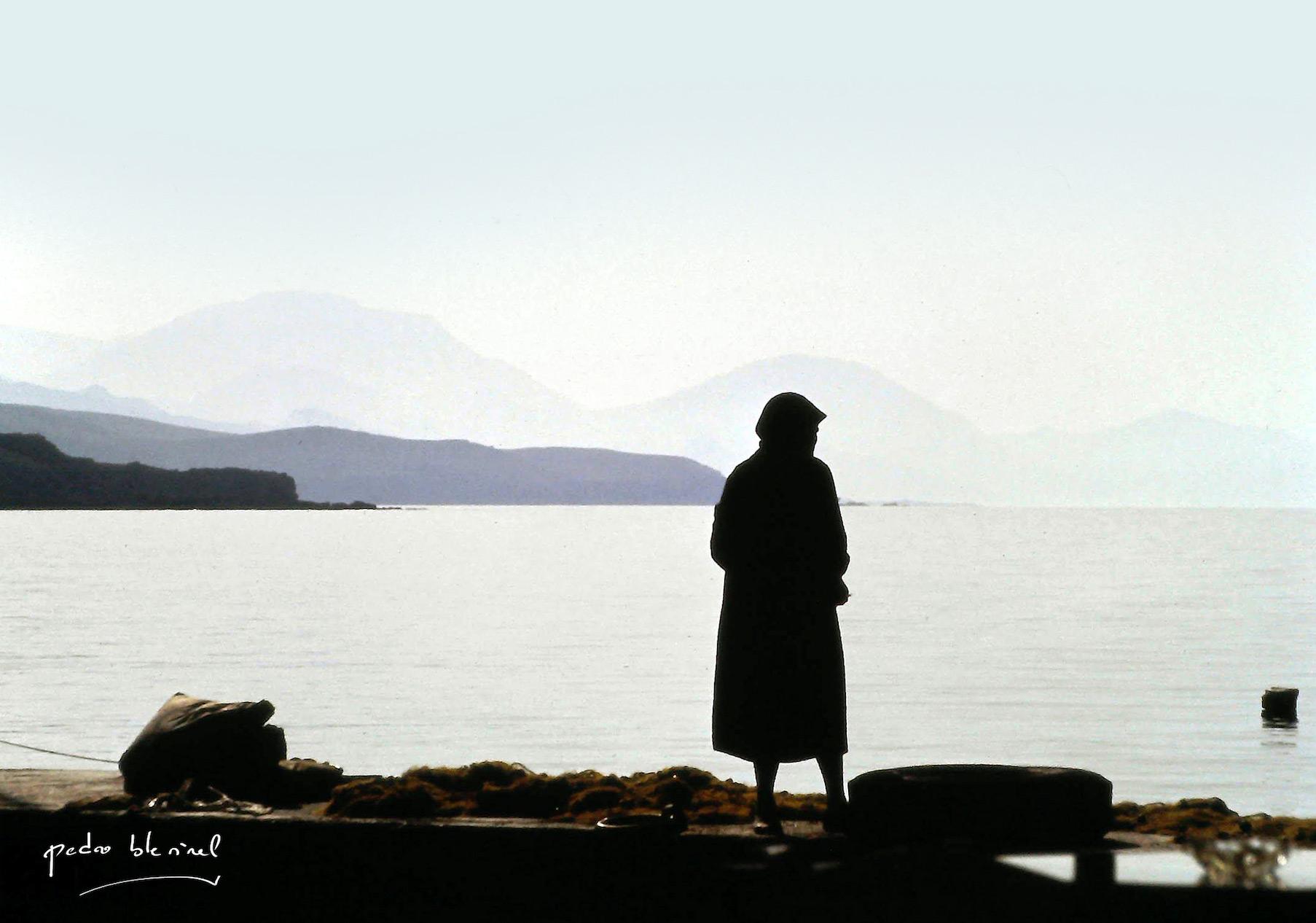 la vieille dame et la mer