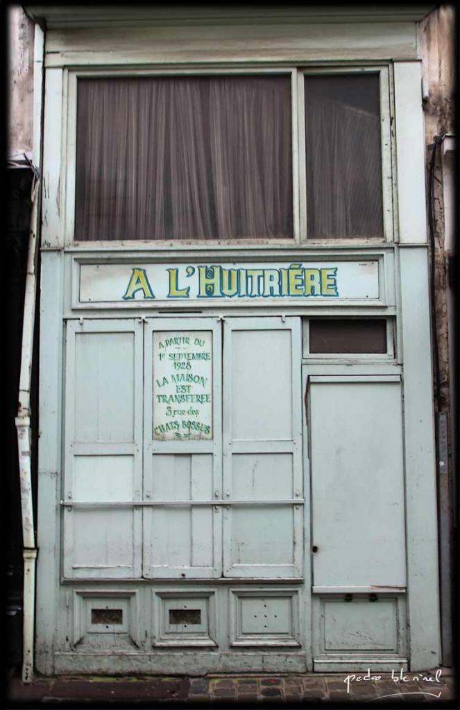 Lille aux trésors : l'huitrière (25/03/17)