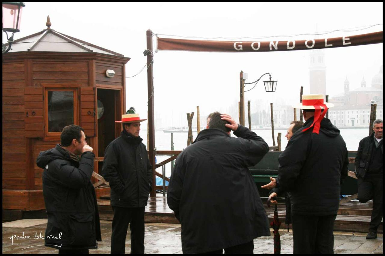 Venezia in iverno : têtes de gondoles (12/03/17)