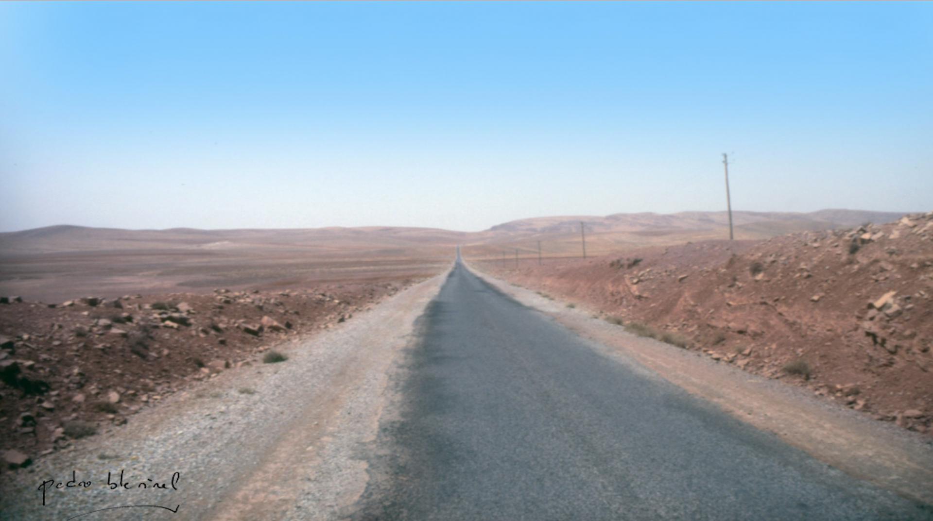 Vers le Sahara