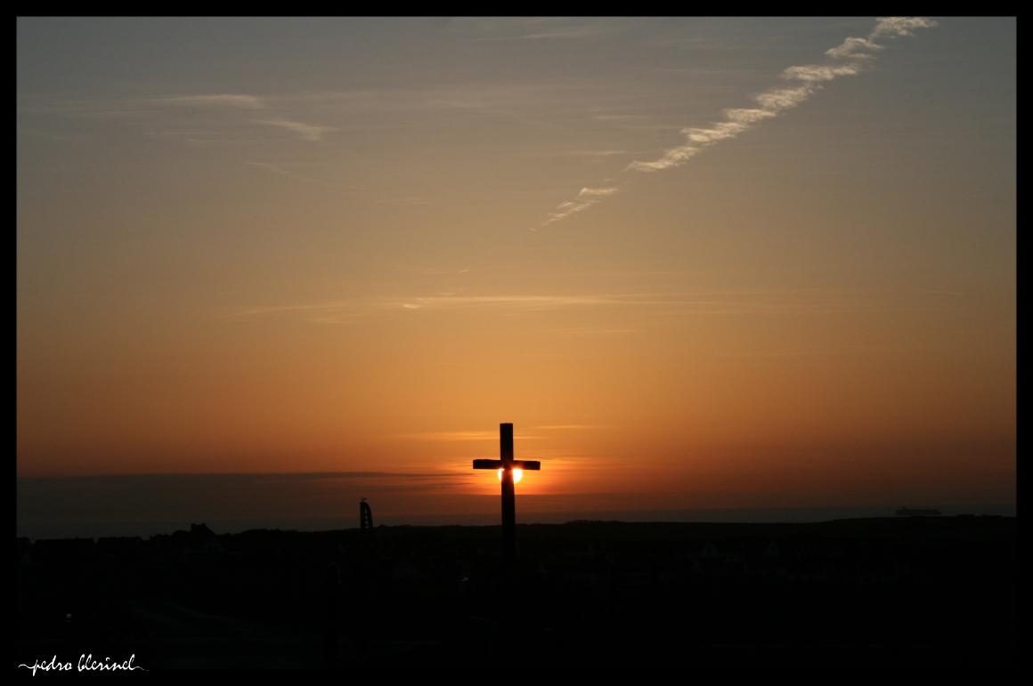 CAP GRIS NEZ : soleil & croix (04/01/17)