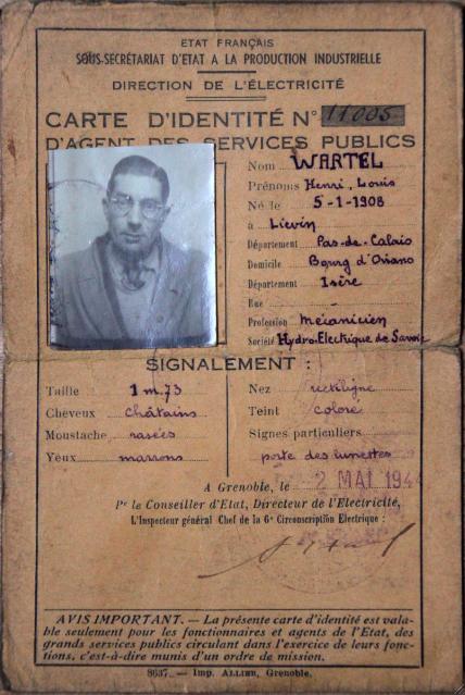 Agent service 1944
