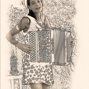 la petite accordéoniste