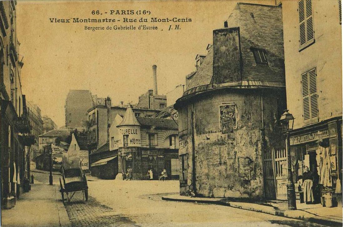 Montmartre rue mont cenis