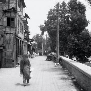 Srinagar côté terre ferme