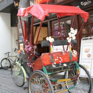 voyager en rickshaw